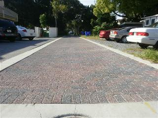 Completed Alley Paver Project