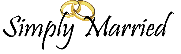 Simply Married Logo Black
