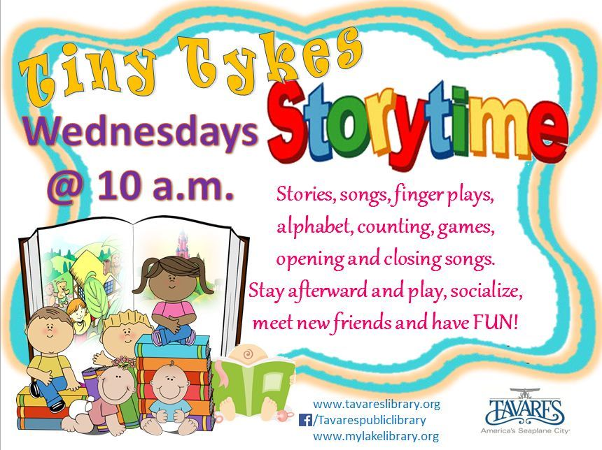 Image of Tiny Tykes Storytime Flyer
