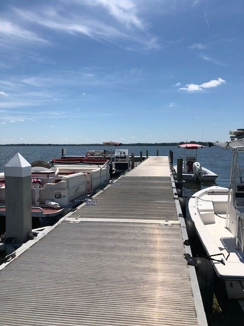 Image of a boat dock.