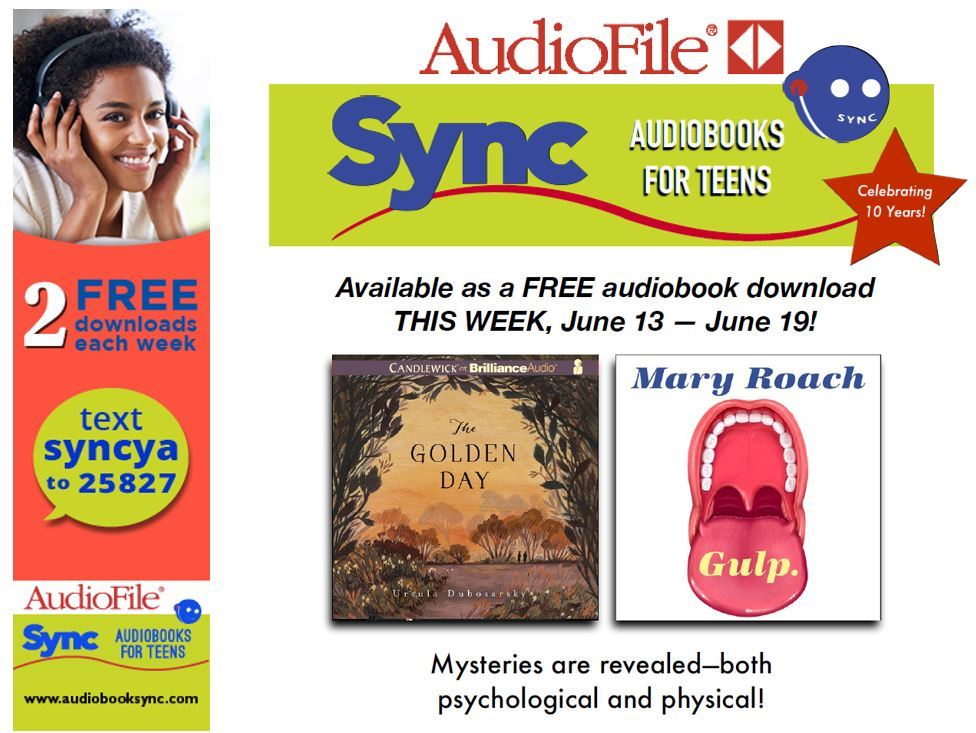Image of SYNC Free Audiobooks June 12-June 19 Flyer