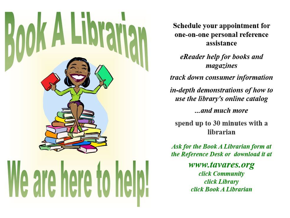 Image of Book A Librarian Flyer