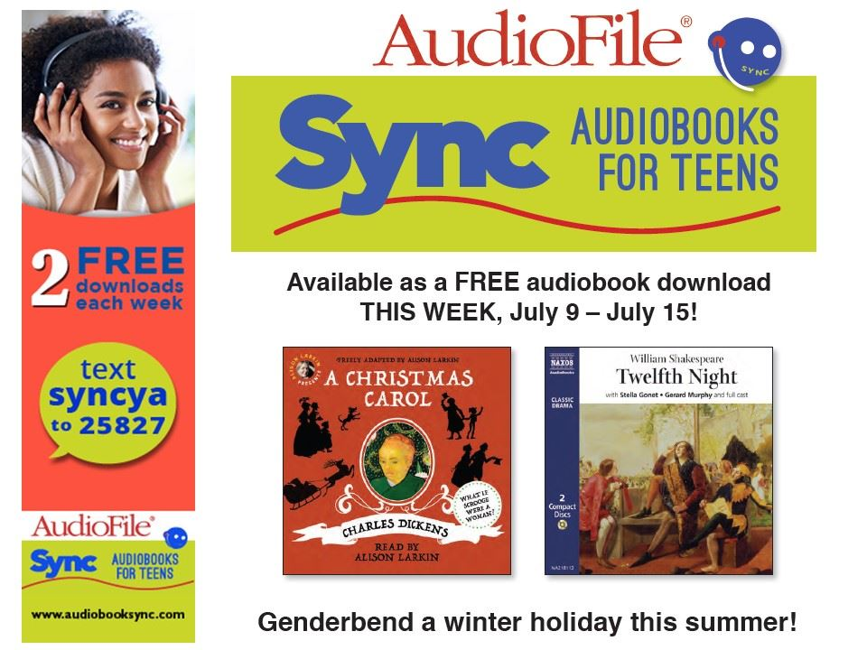 Image of SYNC Free Audiobooks to Download July 9 to July 15 Flyer