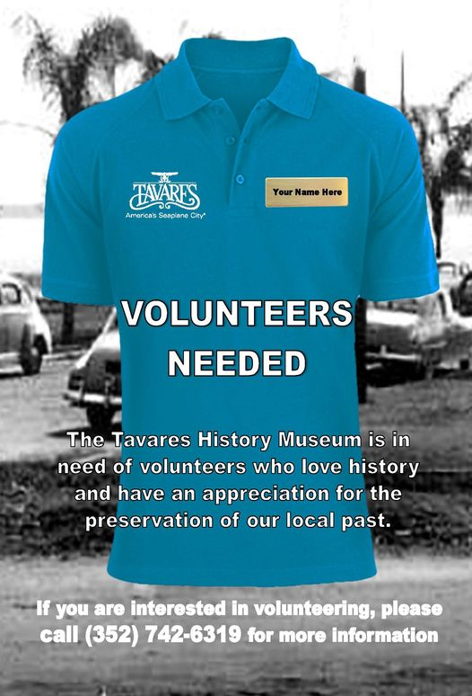 History Museum Vollunteers needed