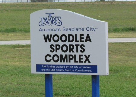 Woodlea Sports Complex sign