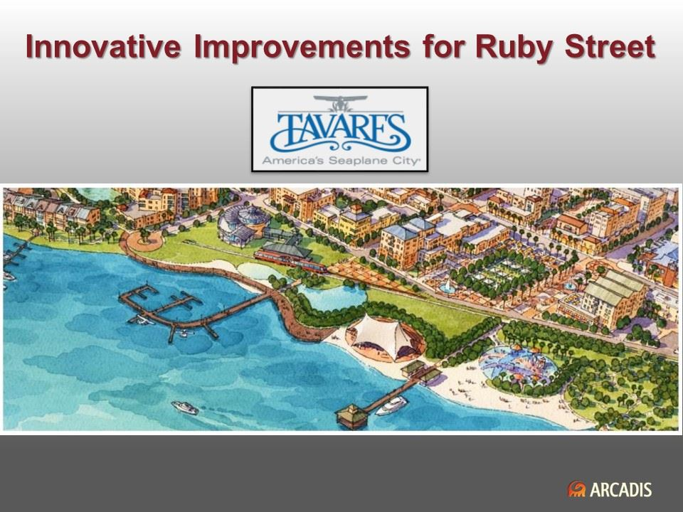 Innovative Stormwater Treatment for Ruby Street PPT